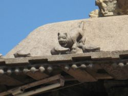 From the roof of a temple in India. Kanchipuram. Tamil Nadu