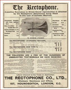 Rectophone-advert